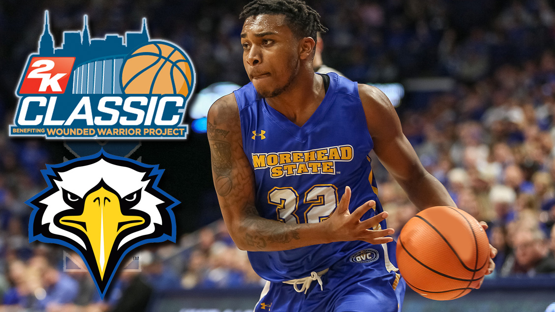 Men S Basketball To Battle Connecticut Syracuse Umkc In The 2018 2k Classic Morehead State University Athletics
