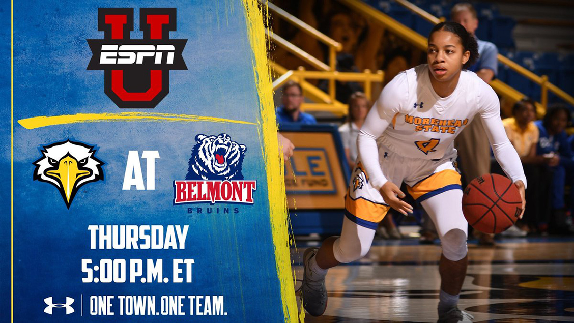 0b3e74ace7ba Women s Basketball Meets Belmont on National Stage Thursday ...